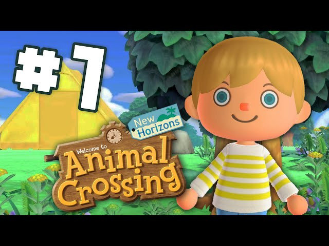 Animal Crossing: New Horizons - EP 1 - Starting An Island Paradise. Sorta.