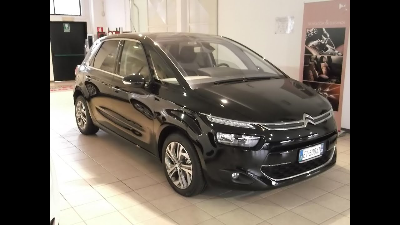 citroen c4 picasso 2 0 hdi 150 cv exclusive blu tivoli navidrive 2011 bluetooth youtube. Black Bedroom Furniture Sets. Home Design Ideas