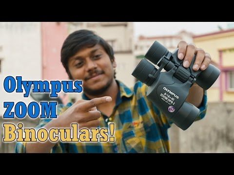 Olympus 8-16x40 Zoom Dps-i Binoculars Unboxing & Full Review!