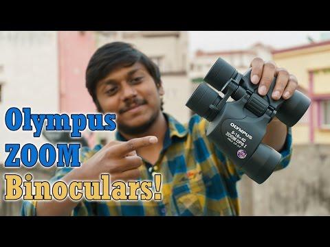 Olympus 816x40 Zoom dpsi Binoculars Unboxing & Full Review!