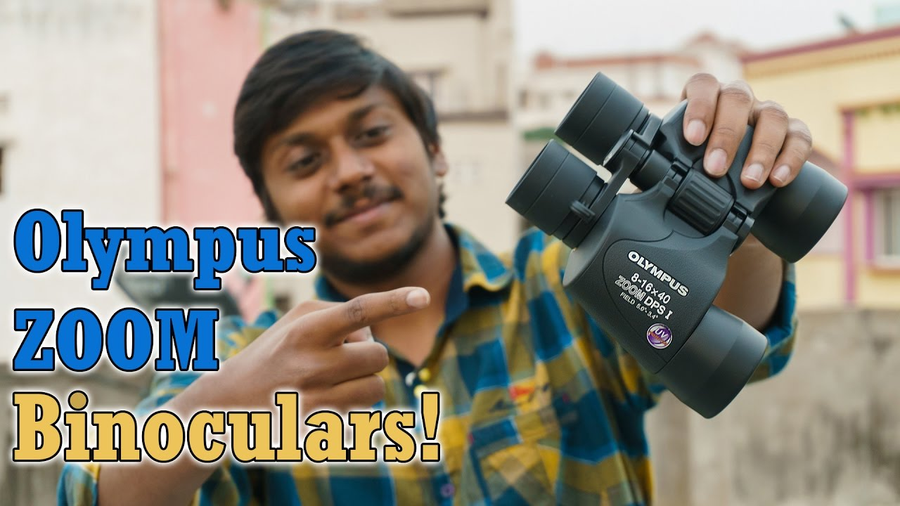 Olympus 8 16x40 Zoom Dps I Binoculars Unboxing Full Review Youtube