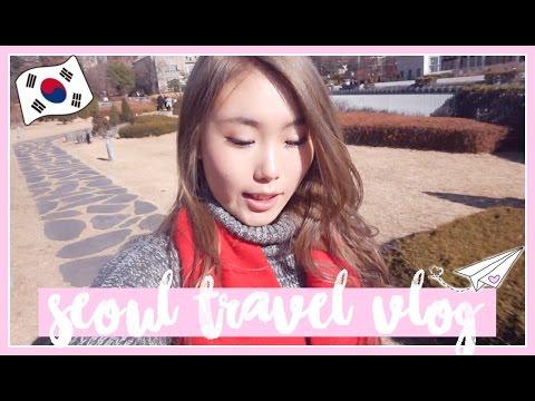 ✈️🇰🇷 KOREA SEOUL VLOG #1 ✨💖 MYEONGDONG, EWHA, SOONSIKI HAIR, HANBOK