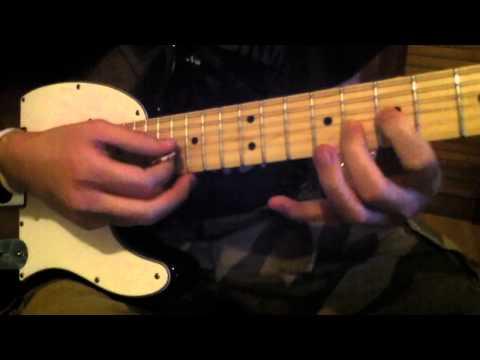 Tequila Sunrise guitar lick