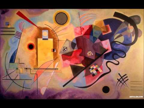 Wassily Kandinsky cover by Mozart Piano concerto No.23 A major 1st. movement