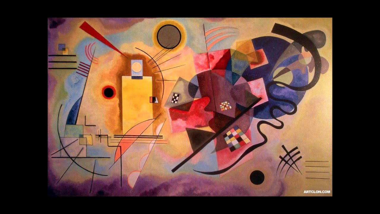 wassily kandinsky cover by mozart piano concerto no 23 a major 1st  movement