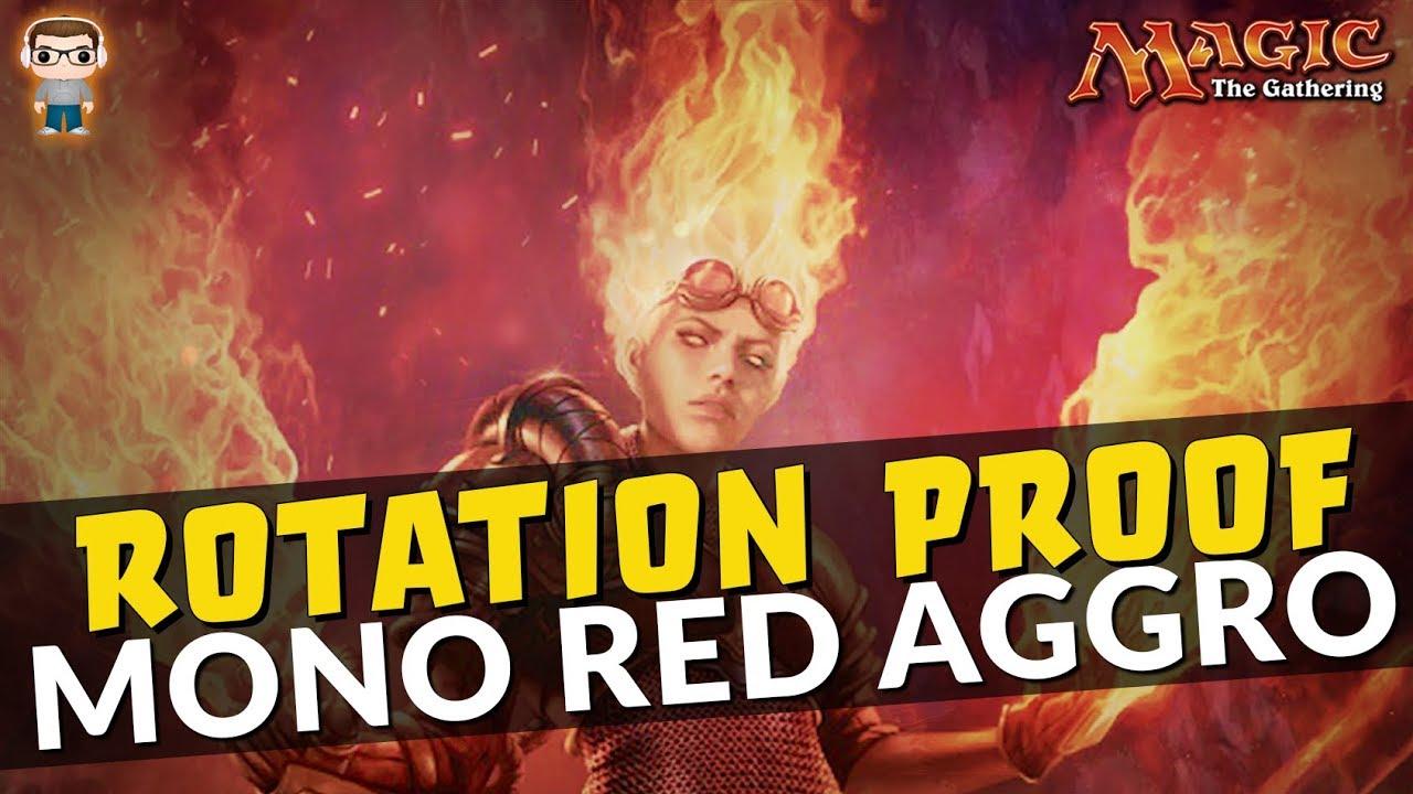 Rotation Proof Mono Red Aggro (M20)