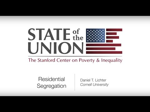 State of the Union 2016: Residential Segregation