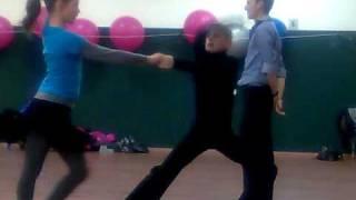 учимся танцевать румбу