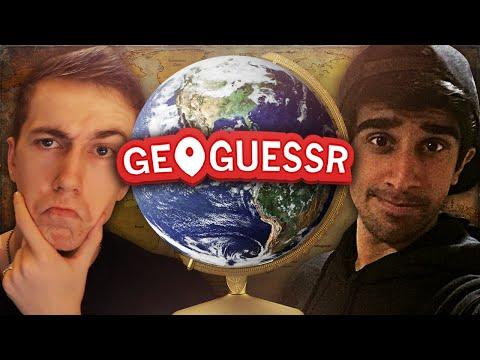 GEOGUESSR #2 With Vikkstar & Simon (GeoGuessr Challenge)
