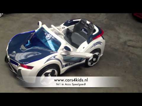 Elektrische Speelgoed Auto Bmw Look Youtube