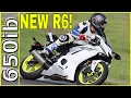 2017 Yamaha R6 on the TRACK!