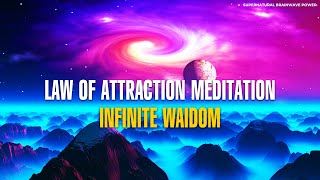 You Are A powerful Creator !! Dig Within Infinite Wisdom - Law Of Attraction Meditation Music