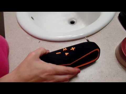 Waterproof IPX7 Wireless Bluetooth 4.1 Outdoor Speaker Waterproof. Unboxing By. Leeron