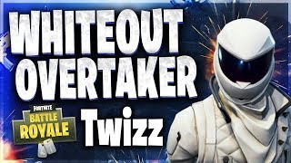 Fortnite: ( WHITEOUT & OVERTAKER SKIN ) playing w/ TWIZZ CLAN