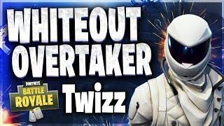 Fortnite: ( WHITEOUT & OVERTAKER SKIN ) playing w/ TWIZZ CLAN