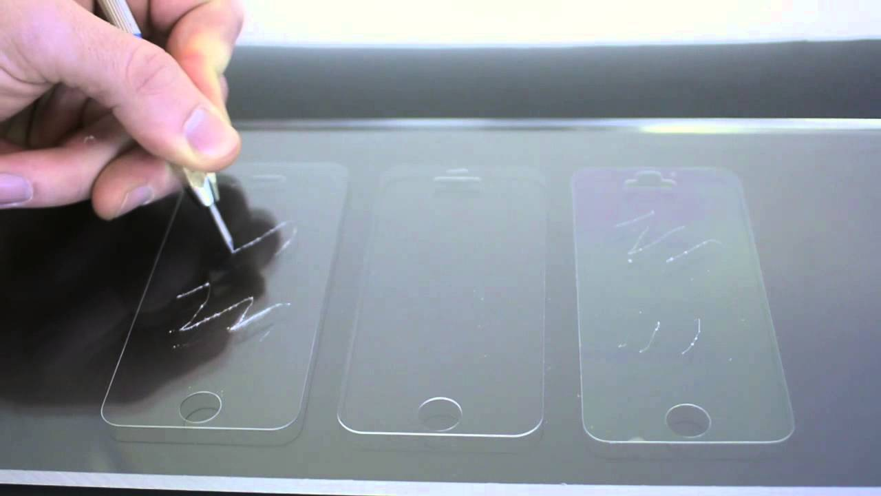 The Ultimate Screen Protector Scratch Test Tempered Glass