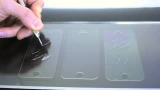The Ultimate Screen Protector Scratch Test: Tempered Glass vs FUSION (Polyurethane top Layer) vs PET