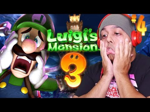 THIS GAME IS GETTING WAY TOO HARD.. [LUIGI'S MANSION 3] [#04]