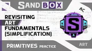 (Мотоцикл Упрощение) Сессия 33 - Creative Sandbox [RUS/eng] (Пересмотр основ рисования)