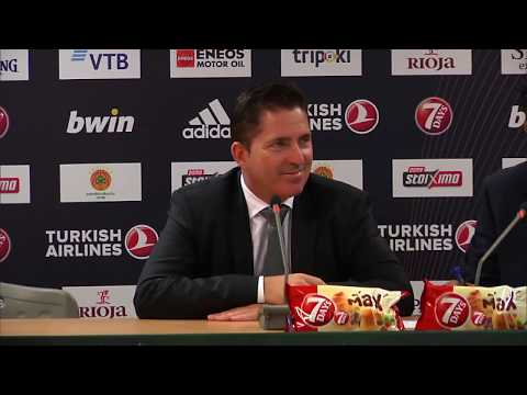Euroleague Post - Game Press Conference: Panathinaikos OPAP Athens vs Herbalife Gran Canaria