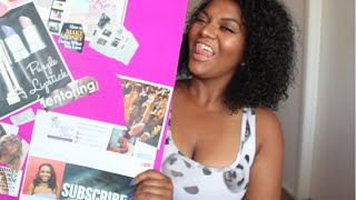 Vision Board - How I Landed My Internship with The Oprah Winfrey Network & More