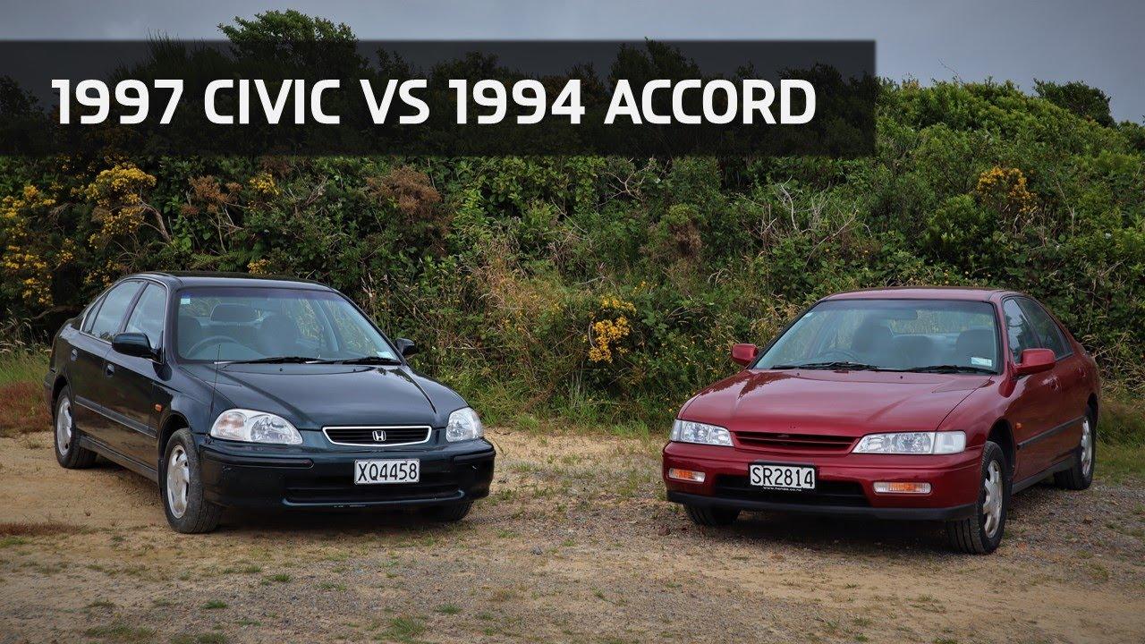 Download Honda Civic EK1 vs Honda Accord CD5