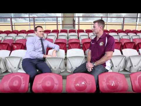 """Interview with Manly Sea Eagles legend Steve """"Beaver"""" Menzies for Golden Eagles TV"""