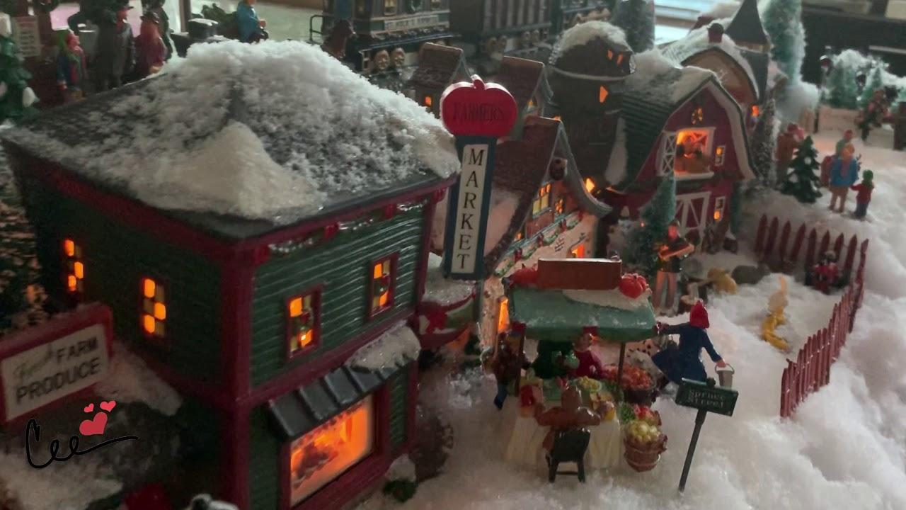 St Nicholas Christmas Village.My 2018 St Nicholas Christmas Village