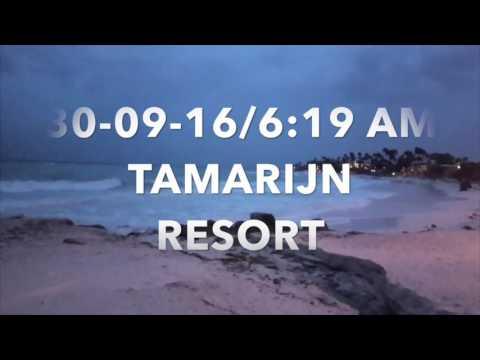 Hurricane Metthew na Aruba 30-09-2016