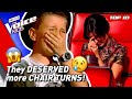 These Blind Auditions deserved MORE CHAIR TURNS in The Voice Kids! 😢 | Top 10