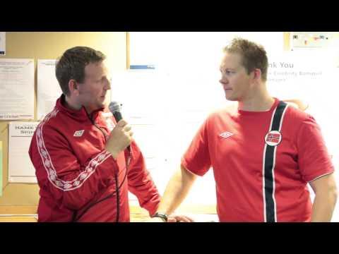 "Capital One Celebrity Bonspiel - Peter Steski Interviews Christoffer ""Bompi"" Svae"
