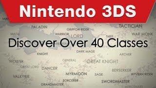 Nintendo 3DS - Fire Emblem Awakening Character Classes Trailer