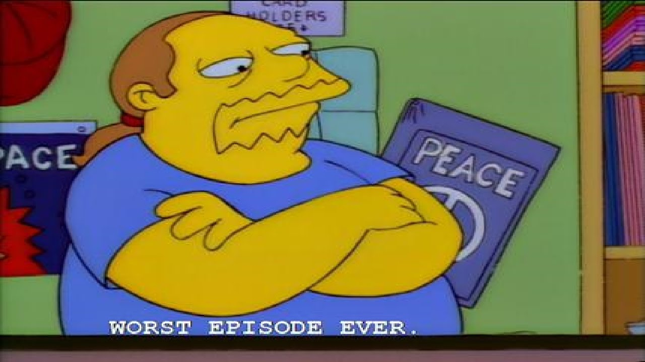 the simpsons and allusion worst essay ever This free media essay on essay: history and growth of the simpsons is the best and worst shows for family as well also the ever.