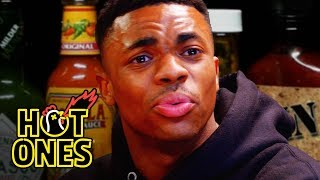 Download Vince Staples Delivers Hot Takes While Eating Spicy Wings | Hot Ones Mp3 and Videos