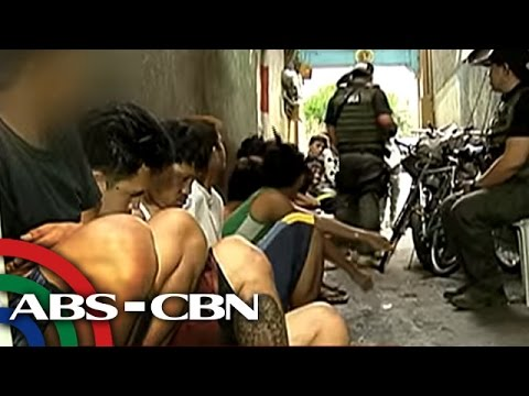TV Patrol: Higit 10 suspek, timbog sa drug raid sa Cubao