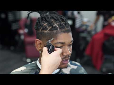 How to apply Enhancements   Low Taper   Barber Tutorial