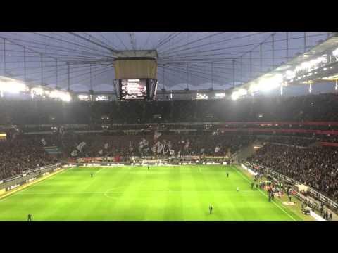 Eintracht frankfurt intro & hymne schwarz weiß wie schnee hd