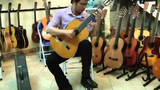 Khúc hát ru người mẹ trẻ guitar - Phạm Tuyên. Chuyển soạn và bd: Vũ Hiển