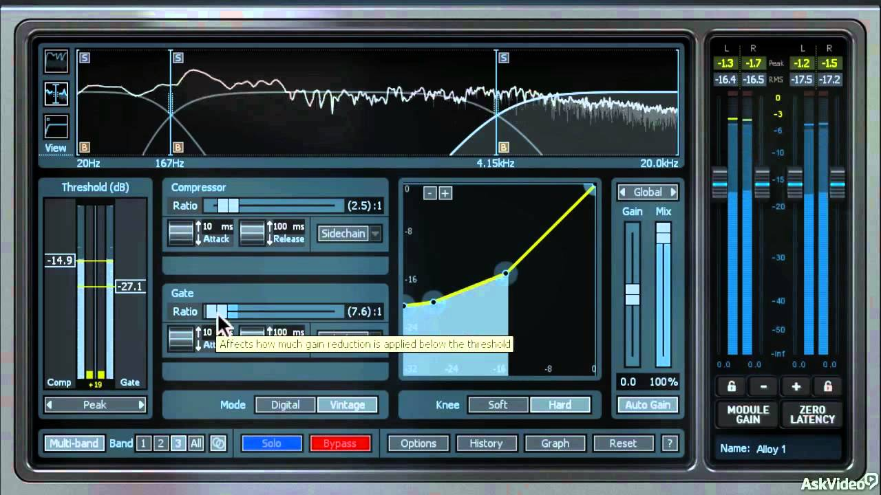 iZotope Alloy 2: Mixer's Toolbox - 23  Multi-band Dynamics