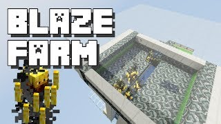 Minecraft: Blaze Farm with Spawner [Xp Grinder]