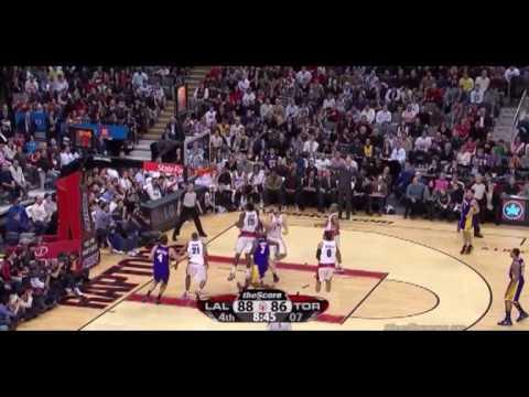 Bargnani + Belinelli Vs. Lakers / Jan. 24th, 2010
