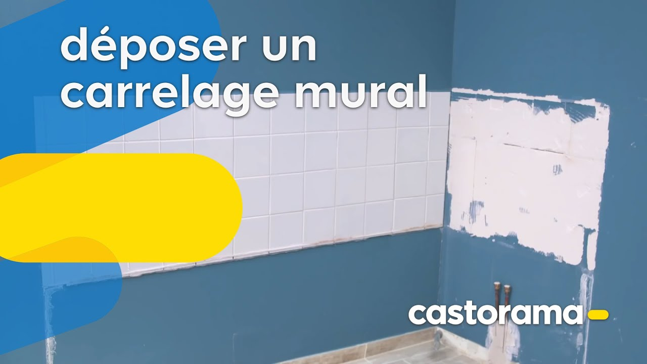 Comment enlever du carrelage mural ? (Castorama) - YouTube