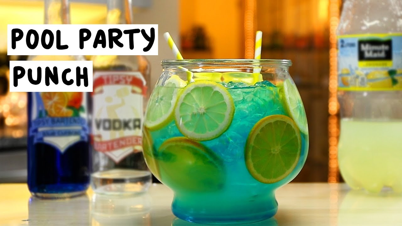 Pool party punch tipsy bartender for Fish bowl drink tipsy bartender