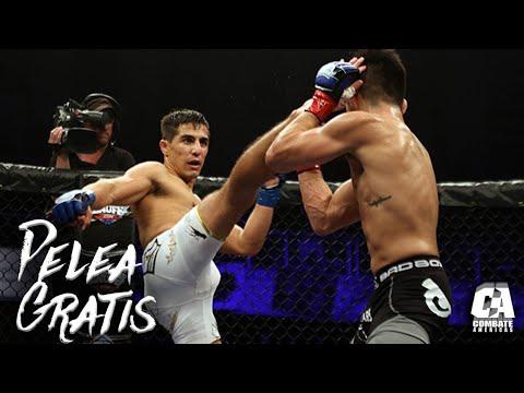 Pelea Gratis: John Castaneda vs Gustavo Lopez   MMA   Combate Americas