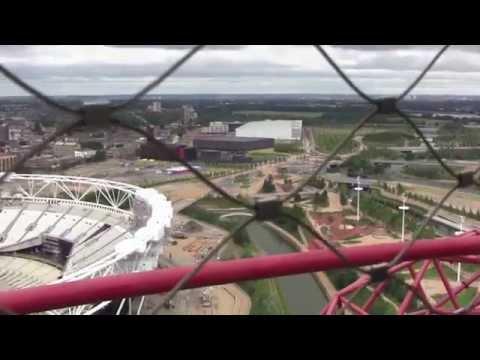 The ArcelorMittal Orbit, Queen Elizabeth Olympic Park, London, England - 15th June, 2014