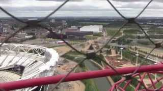 The ArcelorMittal Orbit, Queen Elizabeth Olympic Park, London, England - 15th June, 2014