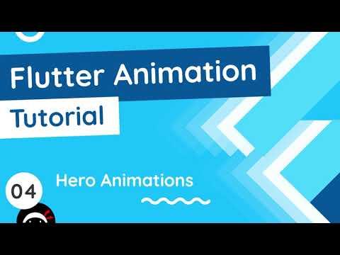 Flutter Animation Tutorial #4 - Hero Animations