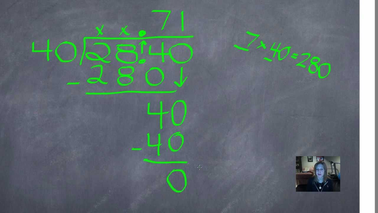 Lesson 7 6 Dividing Decimals By Whole Numbers Using The