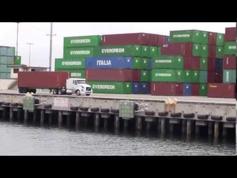 The Port of LA, April 2013