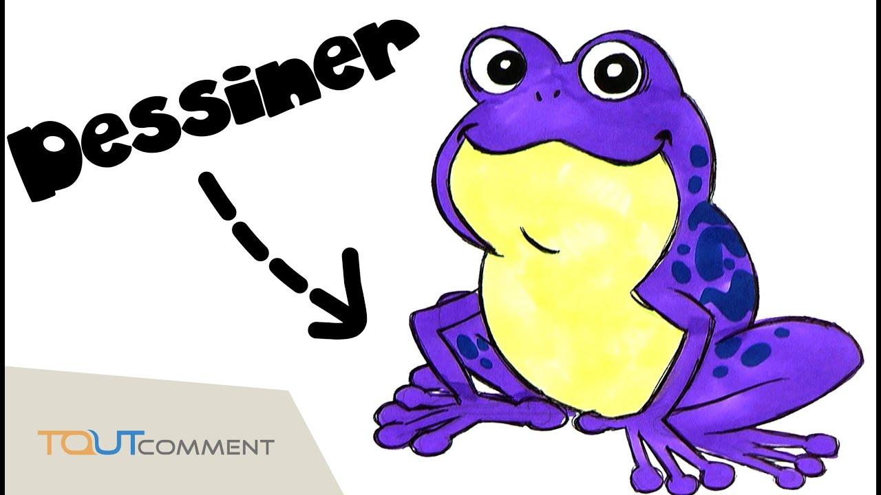 Dessiner une grenouille youtube - Dessiner une grenouille ...